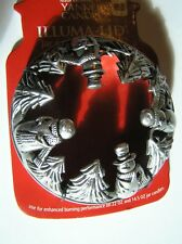 Yankee Candle Easter Silver Snowmen Trees Illuma Lid Topper New Free Shipping