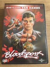 Jean Claude Van Damme - Bloodsport - Uncut - Deutsch - Rarität - Erstauflage