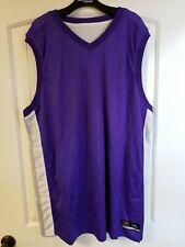 Shirt & Skins Mens Basketball Jersey And Shorts 3XL Purple NEW