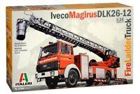3784 Iveco Magirus DLK 26-12 Fire Ladder Truck  ITALERI 1:24 plastic model kit