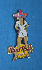 HARD ROCK CAFE 2002 Guadalajara Girls of Rock - Wearing Sombrero Pin # 11695