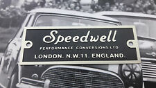 MINI COOPER S CLASSIC NOS SPEEDWELL BMC MK1 ROCKER COVER PLATE WORKS MG VW RARE