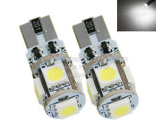 LED SMD W5W 501 194 Wedge T10 CanBus Xenon White Sidelights Parking Light Bulbs