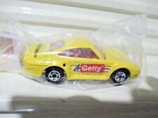 Mattel Hot Wheels 1991 GETTY Yellow Porsche 959 New in Sealed Polybag