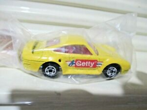 Mattel Hot Wheels 1991 GETTY Yellow Porsche 959 New in Sealed Polybag