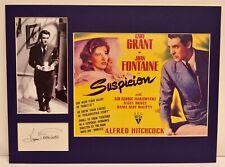 """Suspicion"" Collage with Joan Fontaine Autograph (includes COA)"