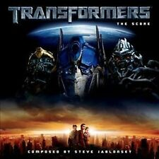 Transformers The Score Steve Jablonsky RARE Soundtrack HARD TO FIND, Fast S&H!