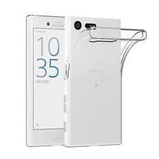 Pour Sony Xperia X COMPACT Coque Gel En Silicone Tpu Transparent