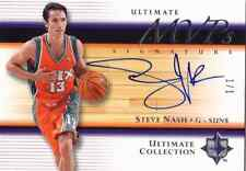 2005-06 Ultimate Collection STEVE NASH Auto Signatures MVP Card #d 1/1 HOF