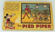More details for walt disney magic lantern slides the pied piper boxed set 1940s vintage