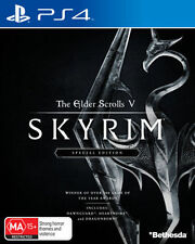 The Elder Scrolls 5 V Skyrim Special Edition PS4 Playstation 4 Game Brand New