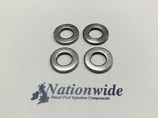 Ford Mondeo 2.0 TDCI Duratorq 130HP Delphi Common Rail Injector Washers x 4