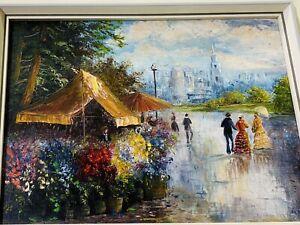 Ölbild Gemälde Ölgemälde Bild Bilder Ölbilder Bilderrahmen Barock Malerei G15665
