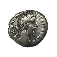 Roman Silver Coin w/COA Emperor Commodus Securitas Silver Denarius Free USA Ship