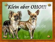 Chihuahuas  / Türschild / Warnschild