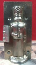 RARE Antique LETANG Paris Christmas Toy Soldier Chocolate Mold - 1 of 3