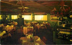 Aptos California 1950s Mon Desir Dining Inn Interior Santa Cruz 11963
