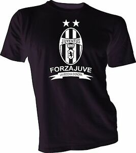 Juventus FC Italy Italia Soccer Football Calcio T Shirt Handmade Team Sports