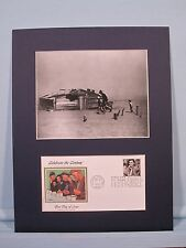 FDR's New Deal - The Okies & the Dust Bowl of the 1930's & First day Cover