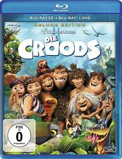 DIE CROODS (Blu-ray 3D + Blu-ray Disc + DVD) NEU+OVP