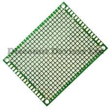 5x 50x70mm doble cara de cobre prototipo PCB placa de fibra de vidrio epoxi matriz