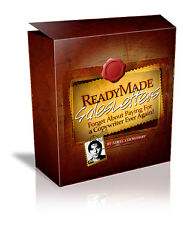 Ready Made Sales Letters Templates on CD