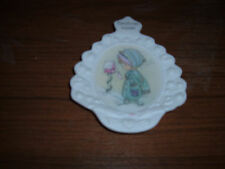 Precious Moments Christmas Wishes 1995 Decorative Small Plate