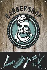 Barber Shop Letrero metal Decor Decoración De Pared Placas 1011