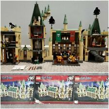 Lego Harry Potter 4842 Hogwarts Castle 4th Ed Minifigures & Manual FREE SHIPPING