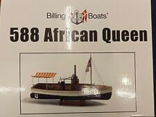 Billing Boats B 588 'African Queen' - 1/12 Scale Model Steam Boat Kit New!