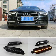 Car LED DRL Driving Daytime Running Day Fog Lamp Light For 2012~2015 Audi A6L A6