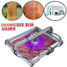 US 2000mW Laser Engraver Carving Machine Desktop Mark DIY Logo Engraving Printer