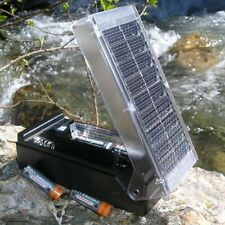 New Solar Battery Charger For AA AAA C & D! Charges 2 At A Time! Free Shipping!