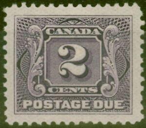 Canada 1906 2c Dull Violet SGD3 Fine Mtd Mint