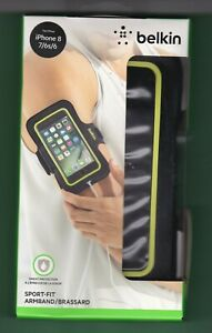 Belkin Spot-Fit Armband for iPhone 8 - 7 - 6s & 6 Sweat Protection NIP