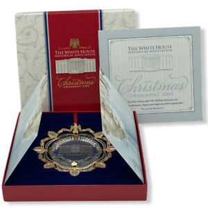 The White House Historical Association 2002 Christmas Ornament