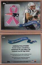Rob Gronkowski 2013 Topps NFL Patch Ribbon  #PR-RG