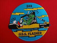 US Navy Patch USS FLASHER SS-249 Gato-Class Submarine
