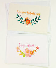 4 Congratulations Cards Greeting Wedding Engagement Pregnancy For CONGRATS12