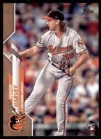 2020 Topps Series 2 Base Gold #364 Hunter Harvey /2020 - Baltimore Orioles