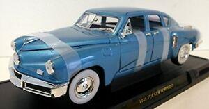 1948 Tucker Torpedo Blue 1/18 Diecast Model Car by Road Signature