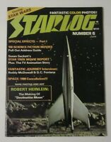 Starlog Magazine Vol 1 #6 Destination Moon Cover June 1977