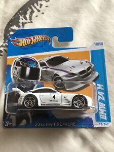 Hot Wheels White BMW Z4 M