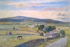Fred Cecil Jones Signed Original Watercolour painting West End Near Harrogate