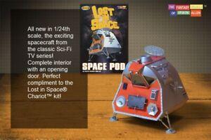 1/24 Moebius 901 Lost in Space Space Pod  Plastic Model Kit