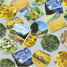 45 PCs/lot Tagebuch Diy Etikette Met Van Gogh Sticky Papier Aufkleber