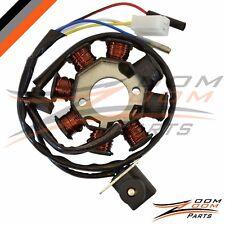 8 Pole Magneto Stator Charging Coil Alternator GY6 50 Go Kart Dune Buggy 50cc
