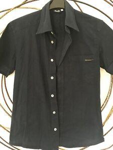 DOLCE & GABBANA Cotton Short Sleeve Shirt Size L