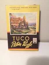 """Tuco 200 piece  Picture Puzzle """"a Cozy Cottage"""" Free shipping!"""