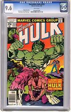 Incredible Hulk  #223  CGC  9.6  NM+  wht pgs Captain America App. 5/78 S.Buscem
